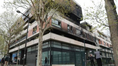 Paris : des solutions de relogement proposées aux sinistrés de l'incendie dans le 19e arrondissement