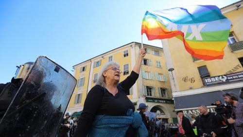 """""""Gilets jaunes"""" : Geneviève Legay, militante blessée à Nice, affirme avoir reçu un """"coup de matraque dans la tête"""""""