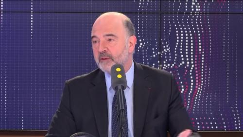 """Européennes : pour Pierre Moscovici, Raphaël Glucksmann doit passer de """"l'euro-enthousiasme à des propositions concrètes et crédibles"""""""