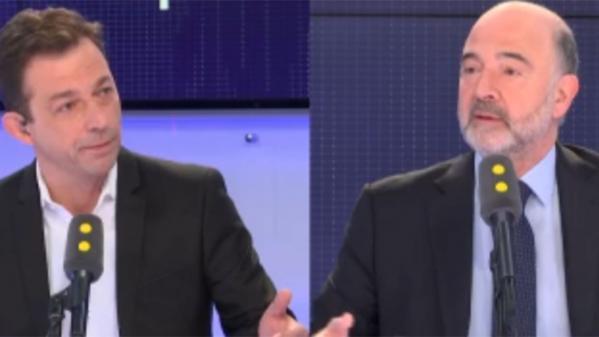 """VIDEO. Pour Pierre Moscovici la fin de la règle de l'unanimité en matière fiscale européenne est """"une évidence"""""""