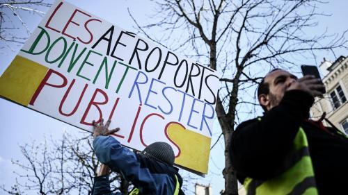 """Privatisation d'ADP : le """"référendum d'initiative partagée"""" a-t-il des chances d'aboutir un jour ?"""