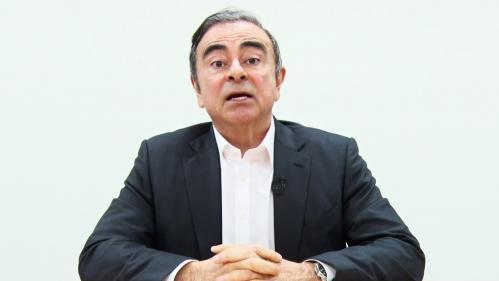 """Dans une vidéo, Carlos Ghosn se dit """"innocent"""" et accuse des dirigeants de Nissan de """"trahison"""""""