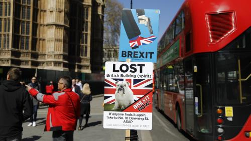"""DIRECT. Brexit : """"no deal"""" ou report prolongé ? L'Union européenne se prononce sur un nouveau délai à accorder à Londres"""