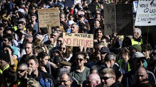 """TRIBUNE. """"La République des pollueurs doit être paralysée"""" : des ONG appellent à la désobéissance civile pour le climat"""