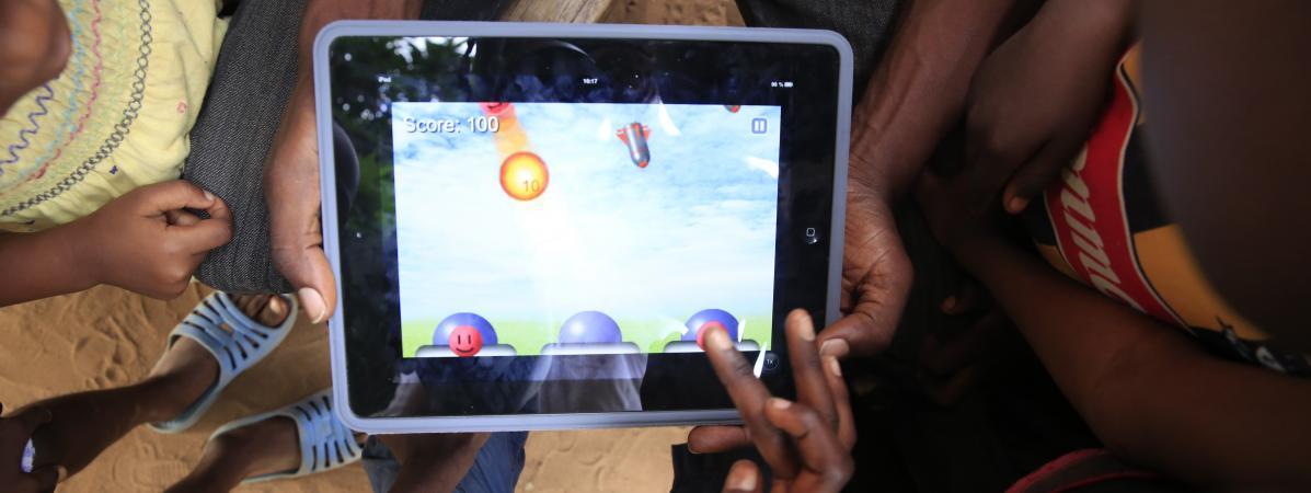 L\'Afrique est à la traîne dans le marché du jeu vidéo par rapport au reste du monde (photo d\'archives).