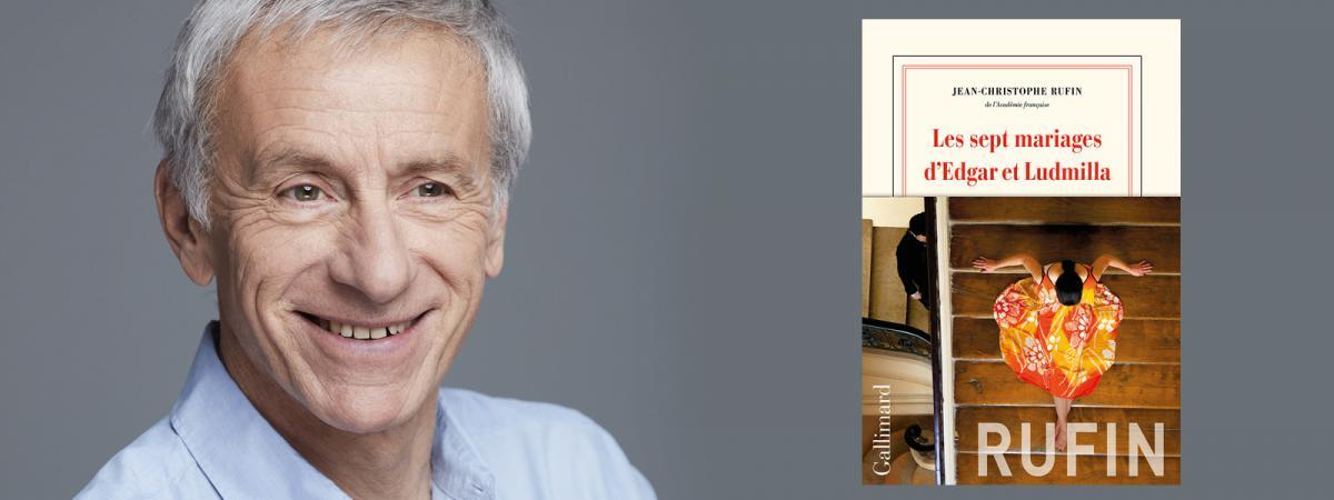 Le romancier et académicien Jean-Christophe Rufin