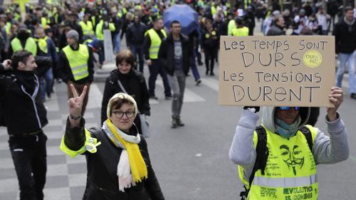 """DIRECT. """"Gilets jaunes"""": 7 500 manifestants en France à 14 heures, selon le ministère de l'Intérieur"""