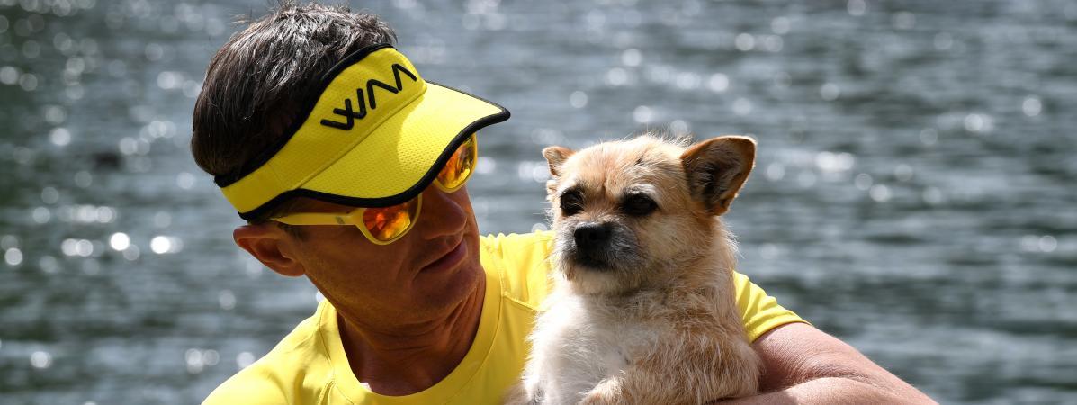 La chienne Gobi va devenir le premier animal à prendre le départ du marathon de Paris