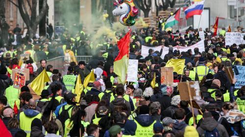 """DIRECT. """"Gilets jaunes"""": Toulouse, """"capitale"""" du 22esamedi de mobilisation"""