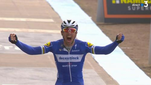 Cyclisme : le Belge Philippe Gilbert remporte la 177e édition du Paris-Roubaix