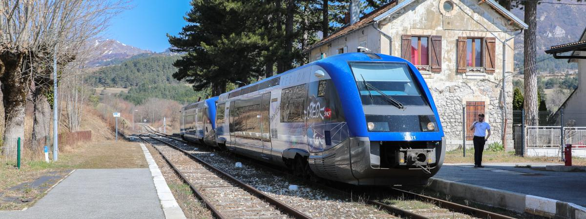 La réhabilitation de la ligne de TER Grenoble-Gap actée