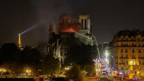 Incendie de Notre-Dame de Paris: la piste accidentelle est privilégiée