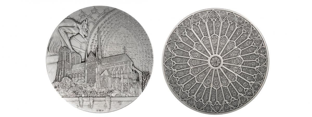 La Monnaie de Paris va rééditer une médaille au profit de Notre-Dame
