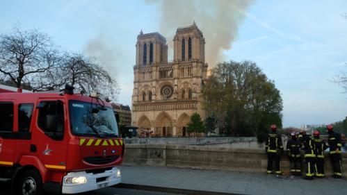 """Incendie de Notre-Dame : """"Au niveau de la sécurité, je crois qu'on ne peut pas faire plus"""""""