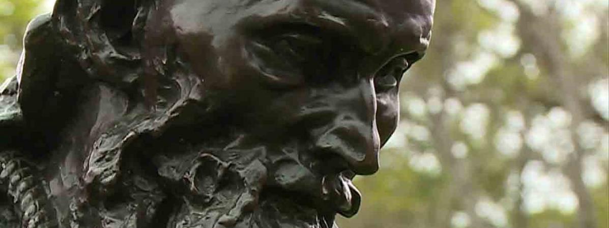 """L'un des """"Bourgeois de Calais"""" de Rodin en visite au château de Laàs tout l'été"""