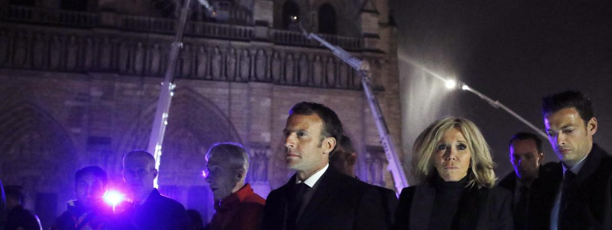 Notre-Dame ne modifie en rien l'état de l'opinion des Français, selon un sondage Odoxa