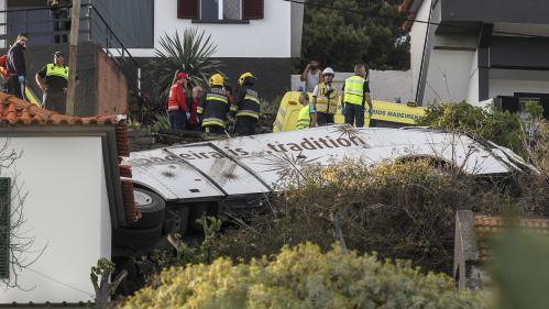 Portugal : au moins 28 morts lors d'un accident de car touristique sur l'île de Madère