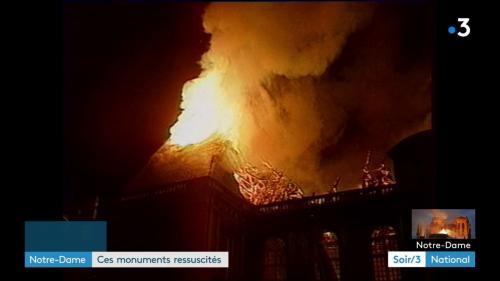 À Reims, Nantes et Rennes, des monuments incendiés puis reconstruits