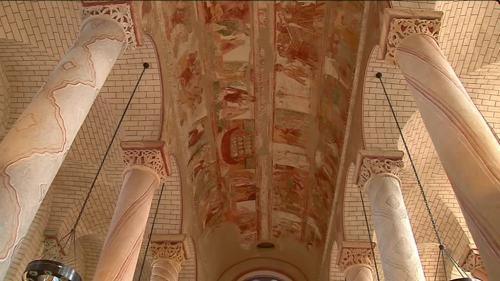 VIDEO. Classée au patrimoine mondial de l'Unesco, l'Abbaye de Saint-Savin n'est pas assurée