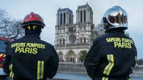 DIRECT. Incendie de Notre-Dame : Macron va recevoir les pompiers qui arrêté le feu