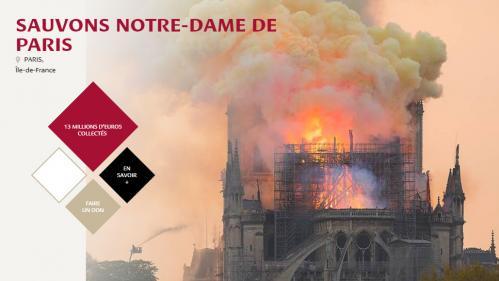 """Dons pour Notre-Dame de Paris : la Fondation du patrimoine met en garde contre """"de nombreuses escroqueries"""""""