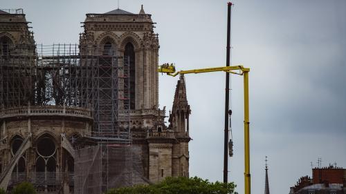 """DIRECT. Incendie de Notre-Dame : il reste """"trois points de fragilité majeurs"""", selon le ministre de la Culture"""