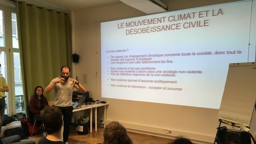 """""""Bloquons la République des pollueurs"""":trois ONG engagées dans une grande action de désobéissance civile en faveur du climat"""