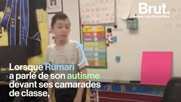 VIDEO. Atteint d'autisme, il explique ses troubles à tous ses camarades