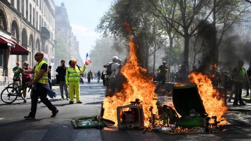 """DIRECT. """"Gilets jaunes"""" : 227 personnes interpellées à Paris, selon la préfecture de police"""