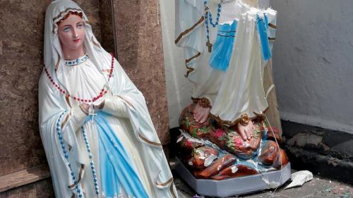 EN IMAGES. Attentats au Sri Lanka : les photos des dégâts dans les églises et les hôtels visés