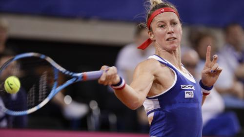 DIRECT. Tennis : suivez la demi-finale de Fed Cup opposant la France à la Roumanie