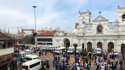 Sri Lanka : au moins 42 morts dans six explosions dans des hôtels et des églises lors de la messe de Pâques