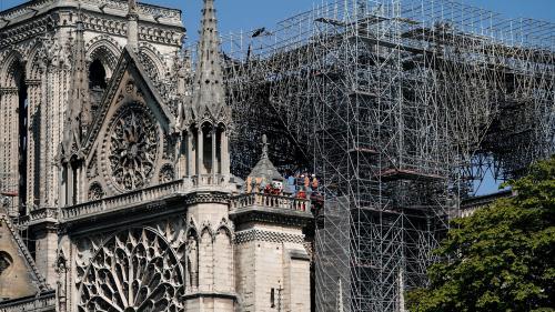 Après l'incendie de Notre-Dame, Emmanuel Macron plaide en faveur d'un fonds européen de solidarité pour le patrimoine