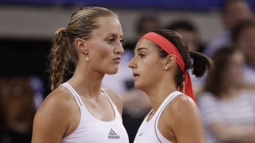 Tennis : l'équipe de France se qualifie pour la finale de la Fed Cup après un match homérique face à la Roumanie (3 points à 2)