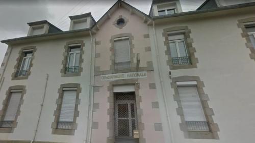 """Finistère : des tags """"suicidez-vous"""" retrouvés sur la façade de la gendarmerie de Landivisiau"""