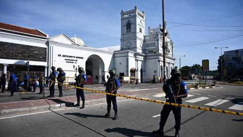 Attentats au Sri Lanka : le bilan grimpe à 290 morts et 500 blessés