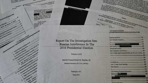Etats-Unis : pas encore sorti en livre, le rapport Mueller est déjà un succès d'édition