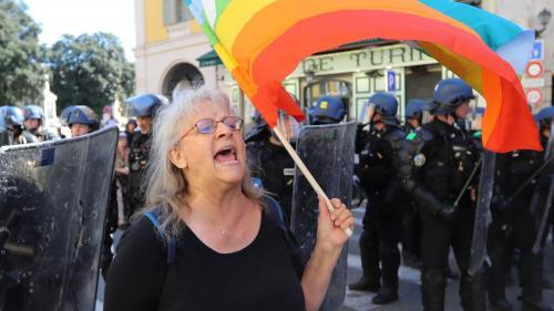 Je suis encore faible confie Geneviève Legay, la militante blessée à Nice pendant un rassemblement de gilets jaunes