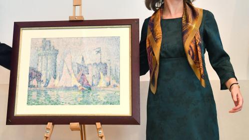 Un tableau de l'impressionniste Paul Signac a été retrouvé en Ukraine.