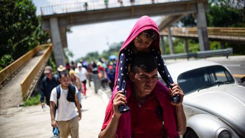 Au Mexique, la crise migratoire s'intensifie au nord et au sud du pays