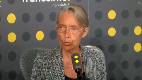 """VIDEO. Nathalie Loiseau """"n'a jamais eu de convictions d'extrême droite"""", affirme Elisabeth Borne"""