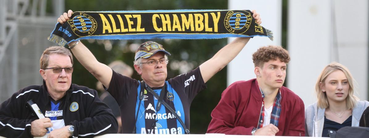 Football : de la cinquième division à la Ligue 2, l'irrésistible ascension du FC Chambly