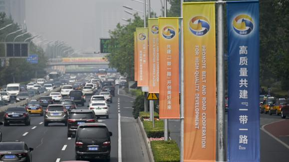 """La Chine organise pendant du 25 au 17 avril 2019 le sommet """"Initiative de la ceinture et de la route""""à Pékin."""