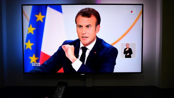 """VIDEO. """"Je me fiche de la prochaine élection, je veux réussir ce mandat"""", lance Emmanuel Macron"""
