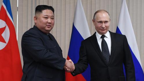 Kim Jong-un et Vladimir Poutine à Vladivostok pour un premier sommet Russie-Corée du Nord