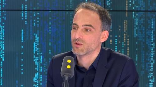 """VIDEO. Européennes: Raphaël Glucksmann """"commence à aimer faire campagne"""" et sent """"une dynamique"""" autour de sa candidature"""