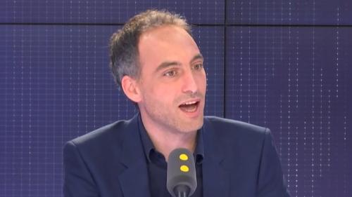 """VIDEO. Gauche divisée aux européennes: """"Nous n'avons pas la même vision de l'Europe"""", explique Raphaël Glucksmann"""