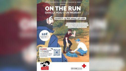 """""""Dans la peau d'un migrant"""" : la Croix-Rouge de Vendée choque avec une initiative des plus surprenantes"""