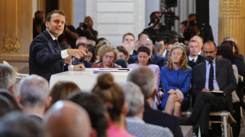 Emmanuel Macron a réuni 8,4 millions de téléspectateurs