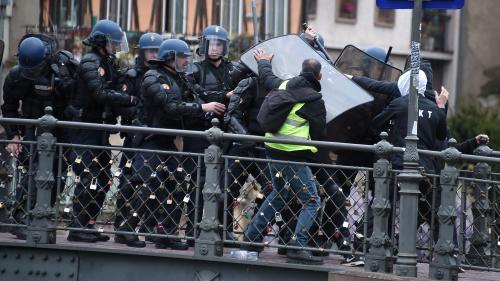 """DIRECT. Manifestations des """"gilets jaunes"""" : un blessé à Strasbourg"""